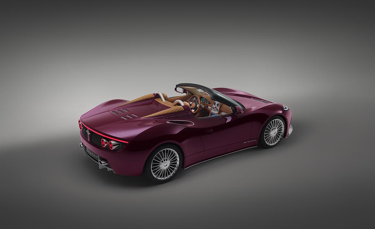 Izboku auto vypadá skvěle: je vyvážené anaprvní pohled napovídá, kde je uloženo srdce.