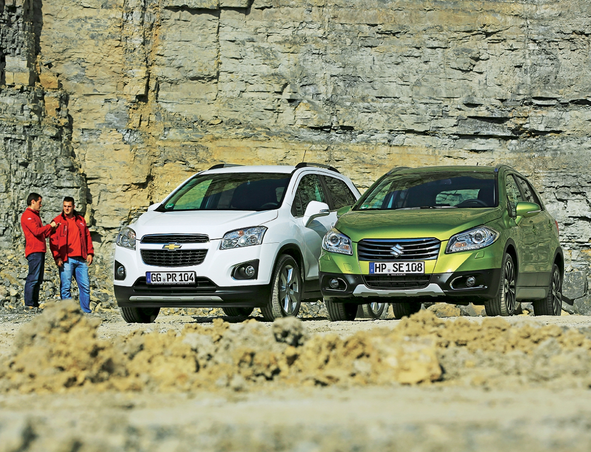 Malé crossovery jsou v módě, ani Chevrolet a Suzuki nechtějí být pozadu.