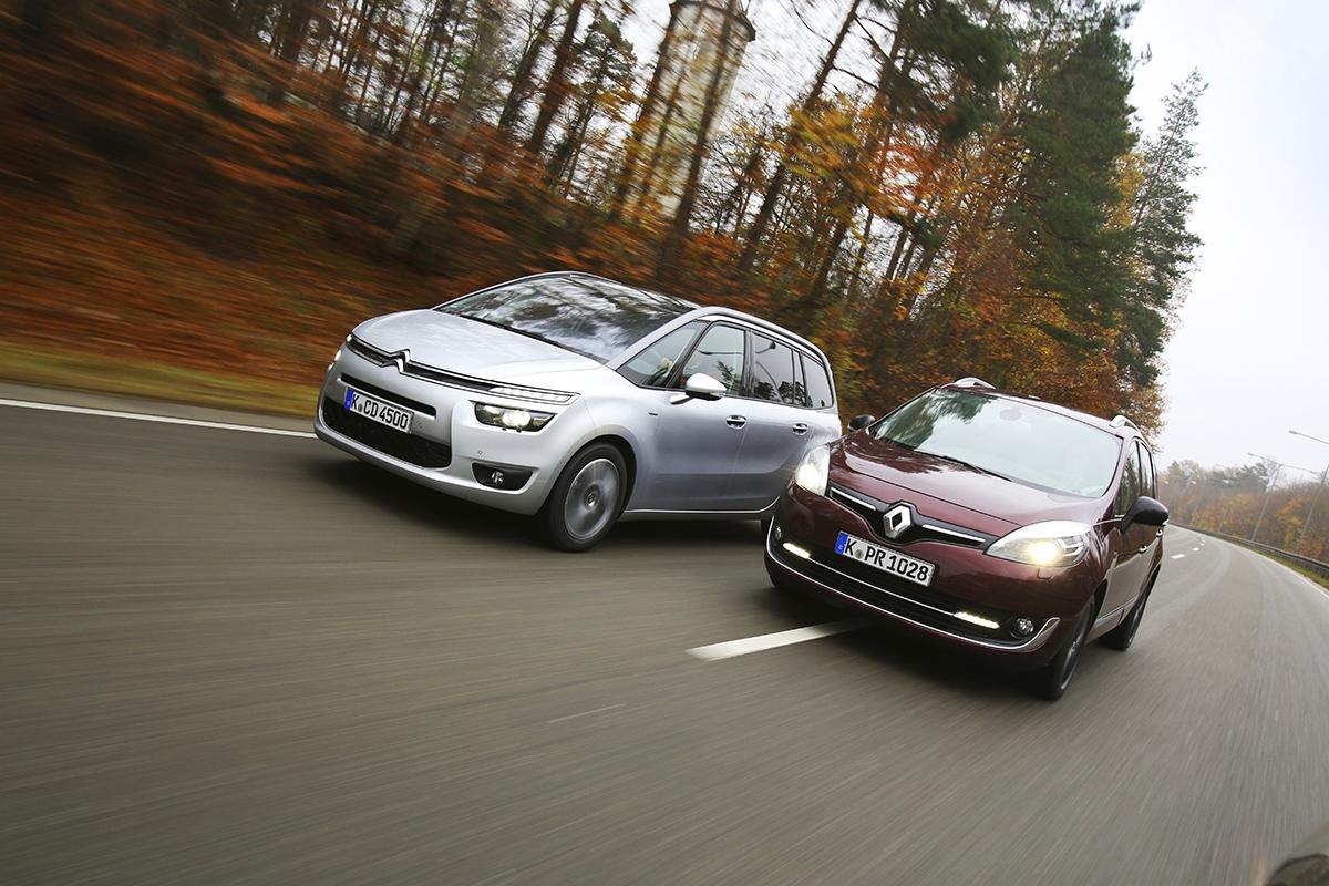 Naextravagantní vzhled jsme si uCitroënu zata léta již zvykli. Renault je idíky nedávné modernizaci stále velmi silným soupeřem.