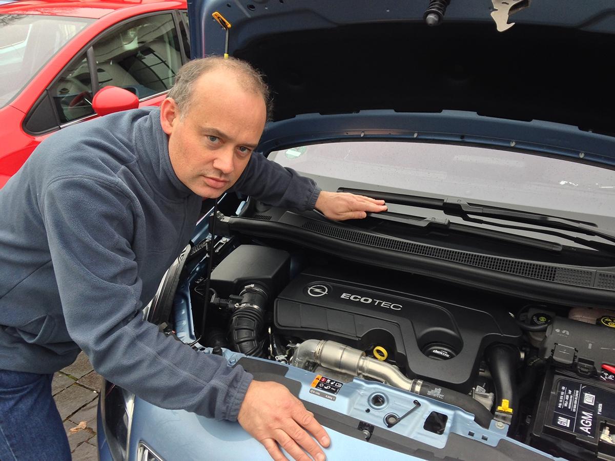 Nový motor 1.6 CDTI je oproti sedmnáctistovce tišší akultivovanější.