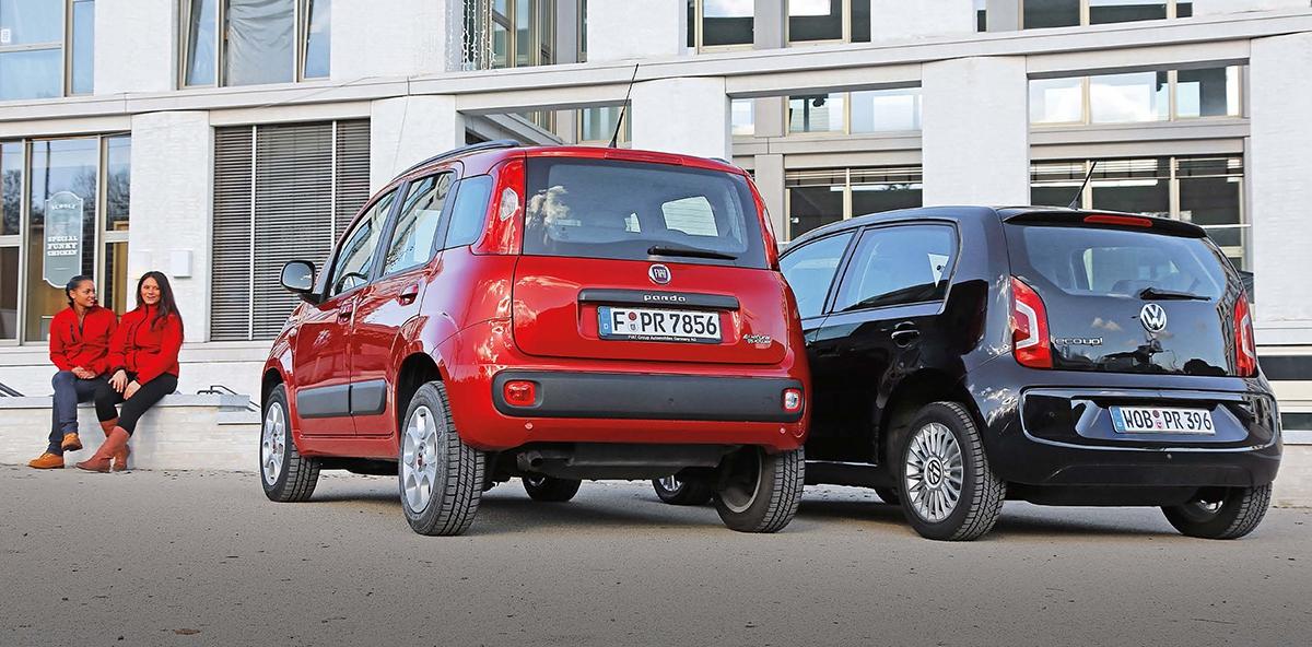 Panda CNG využívá stejný podvozek jako Panda Trekking, díky větší světlosti (o5,4cm) je pod vozem dostatek místa nanádrže.