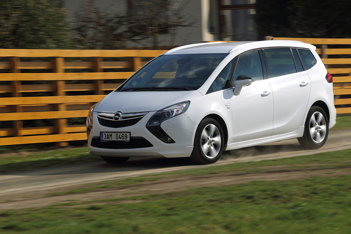 Opel Zafira Tourer 1.6 Turbo CNG Cosmo