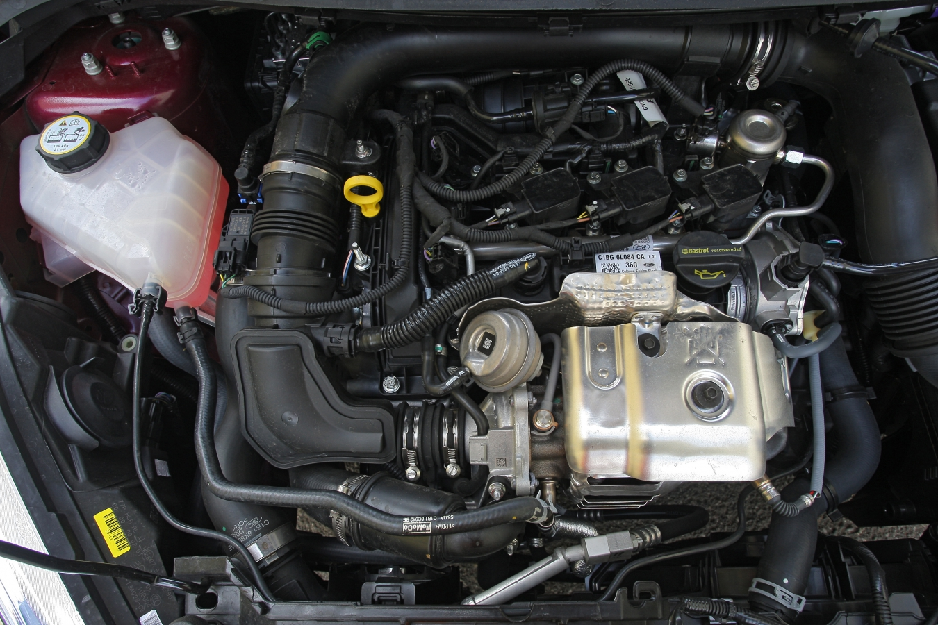 Ford Fiesta 1.0 EcoBoost motor