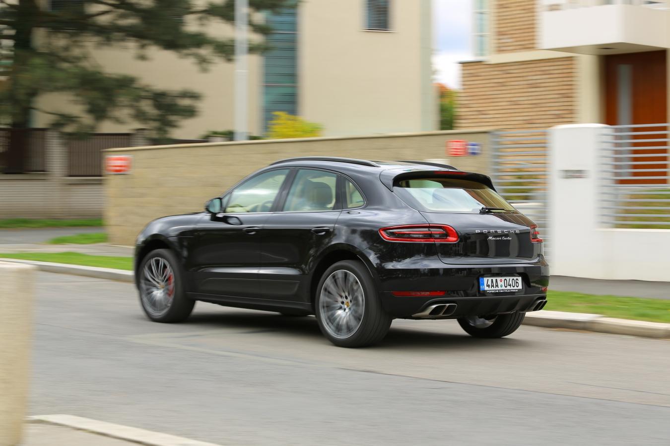 Porsche Macan jízda