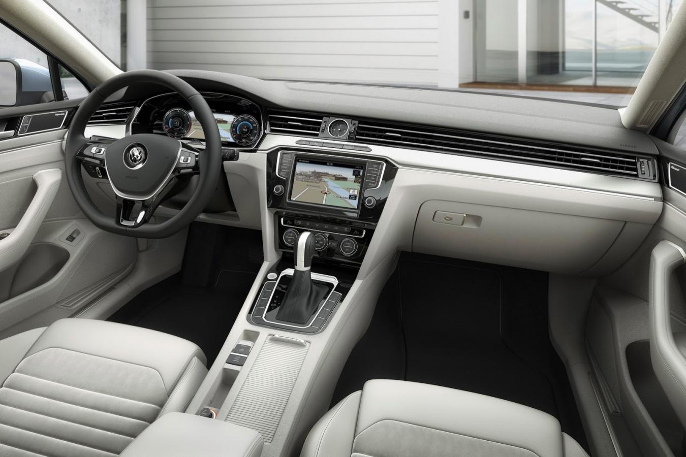 Volkswagen Passat B8 interiér