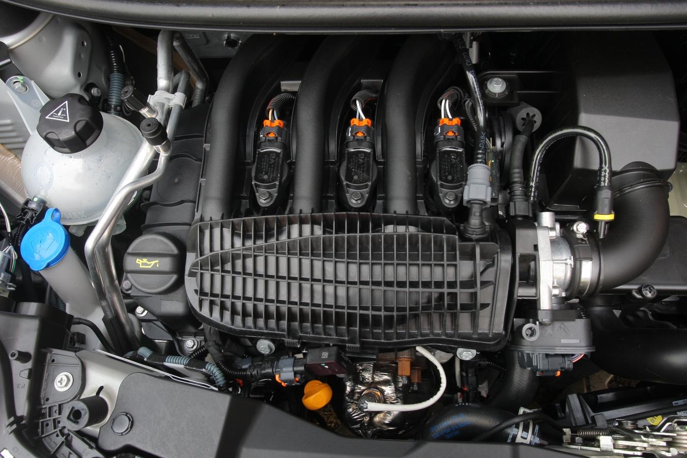 Citroën C1 1.2 VTi motor