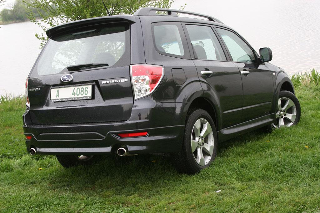 Subaru Forester 2.0 TD-E (2008) - fotogalerie