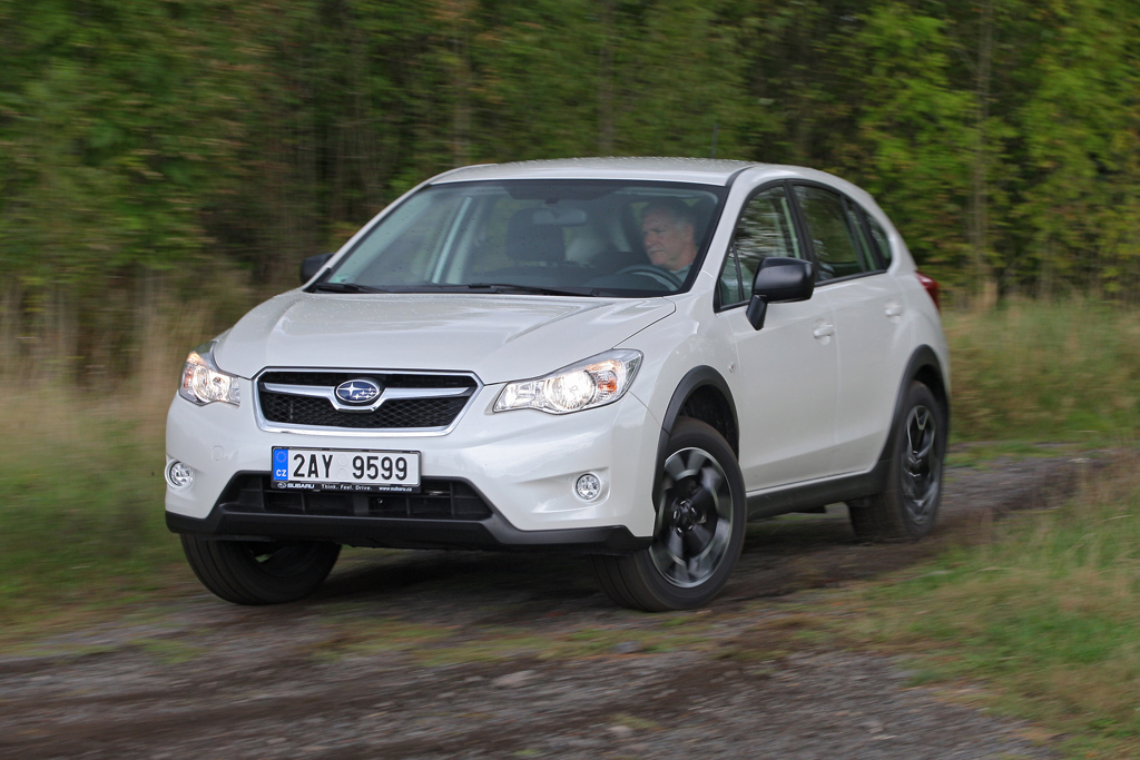Subaru XV 2.0D X Active: Geocaching