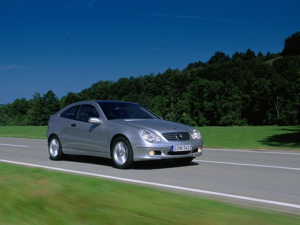 mercedes benz c sportcoupe 230 k 2000 autohit