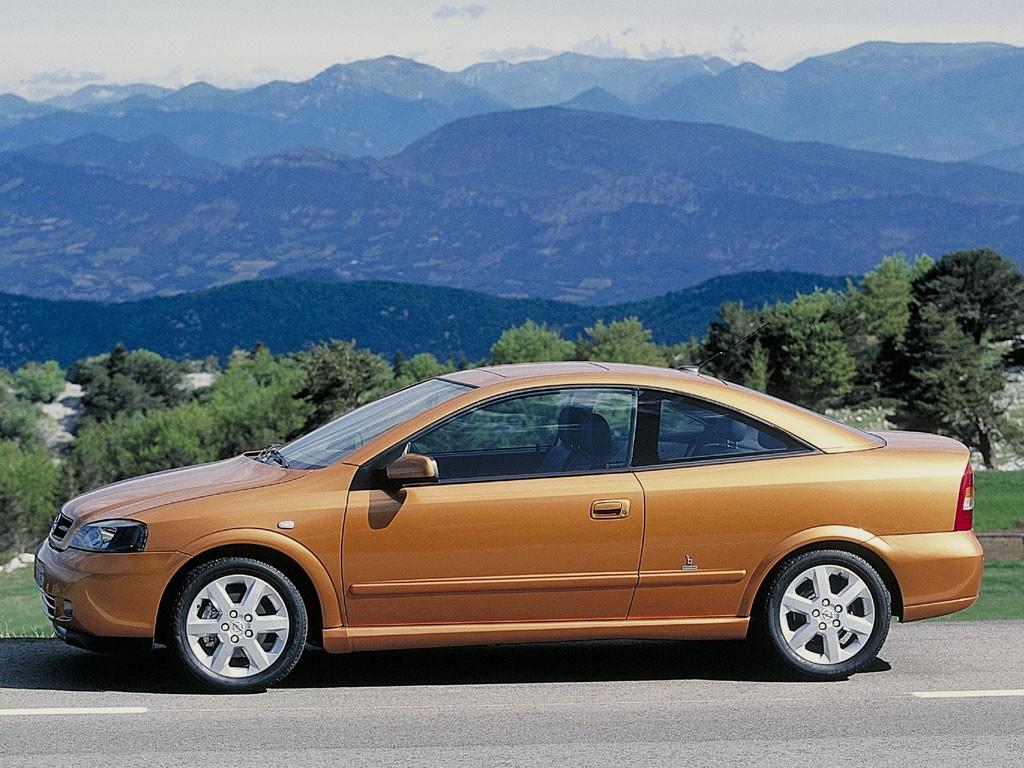 Модель авто Opel Astra была выпущена…