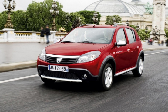 dacia sandero stepway 1 5 dci 90 hp autohit. Black Bedroom Furniture Sets. Home Design Ideas