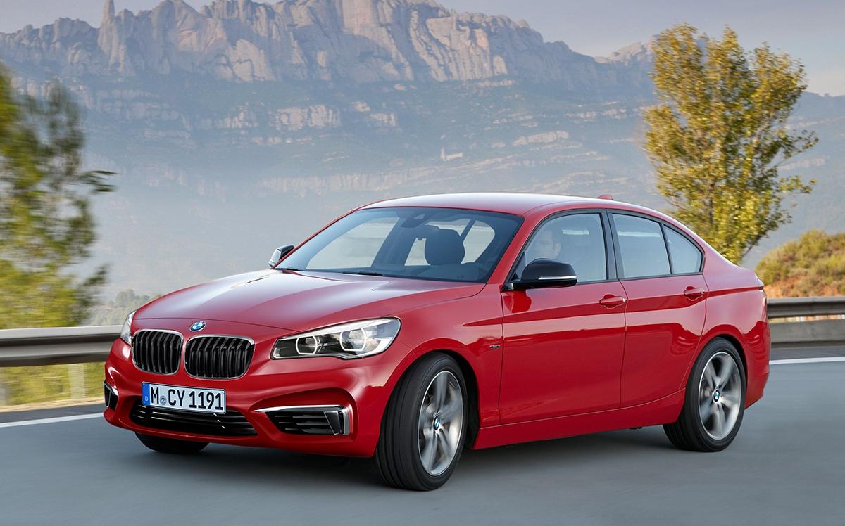 BMW řady 1 sedan - konkurent Mercedesu třídy CLA či Audi A3 sedan nasebe nechá ještě čekat anepředstaví se dříve než zadva roky. Ion vyjede na nové platformě aspředním pohonem.